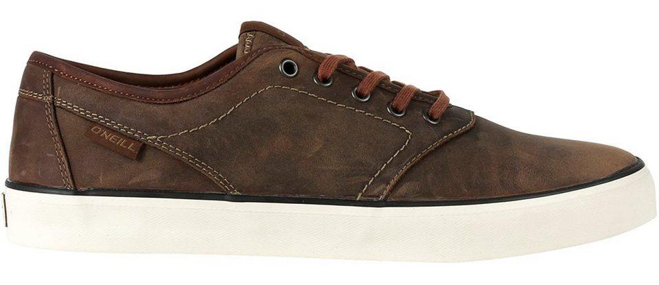 O'NEILL Sneaker »Leder Sneaker Psycho low oiled von O´Neill« in Olive