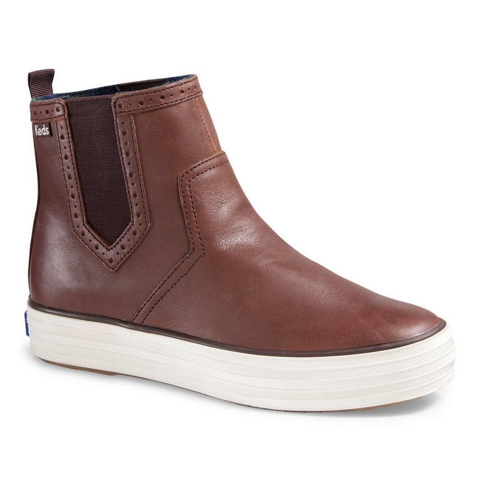Keds Chelsea Boot »Triple Chelsea Leather« in braun