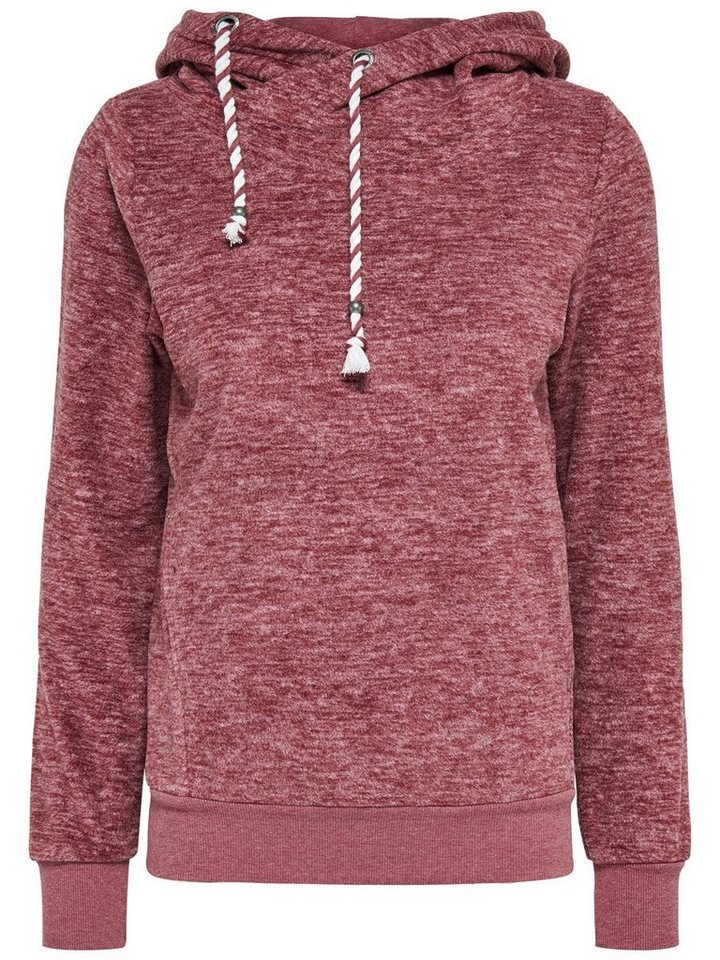 Only Sweat- Hoodie in Syrah