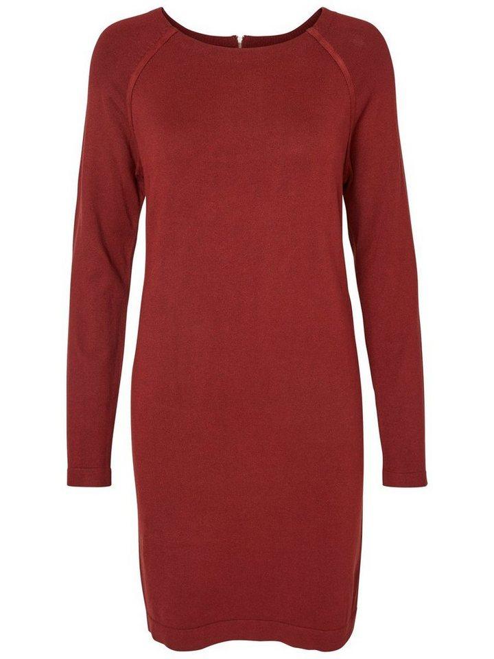Vero Moda Langärmeliges Kleid in Fired Brick