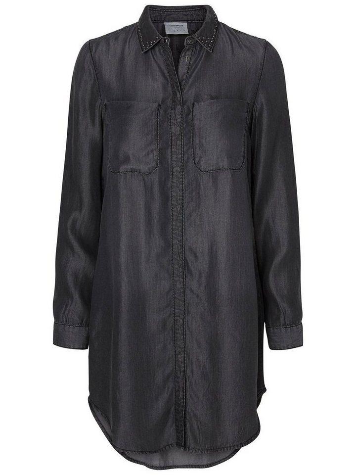 Vero Moda Langes Hemd in Black