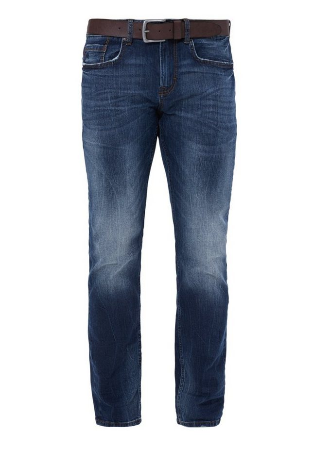 s.Oliver RED LABEL Close Slim: Superstretch-Jeans in strato blue denim st