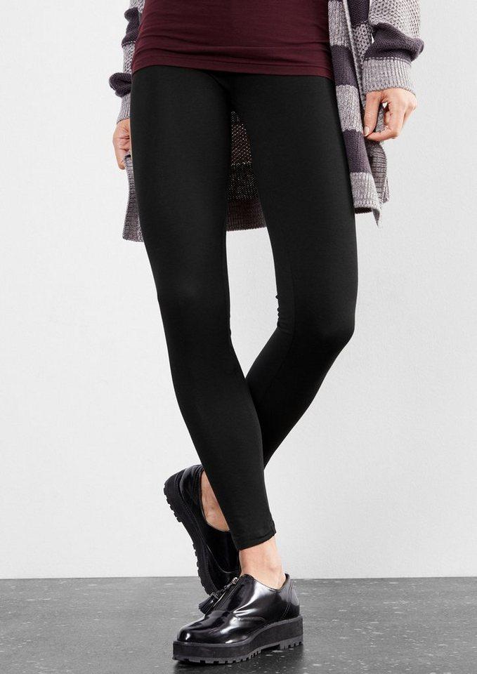Q/S designed by Doppelpack Jersey-Leggings in dark grey