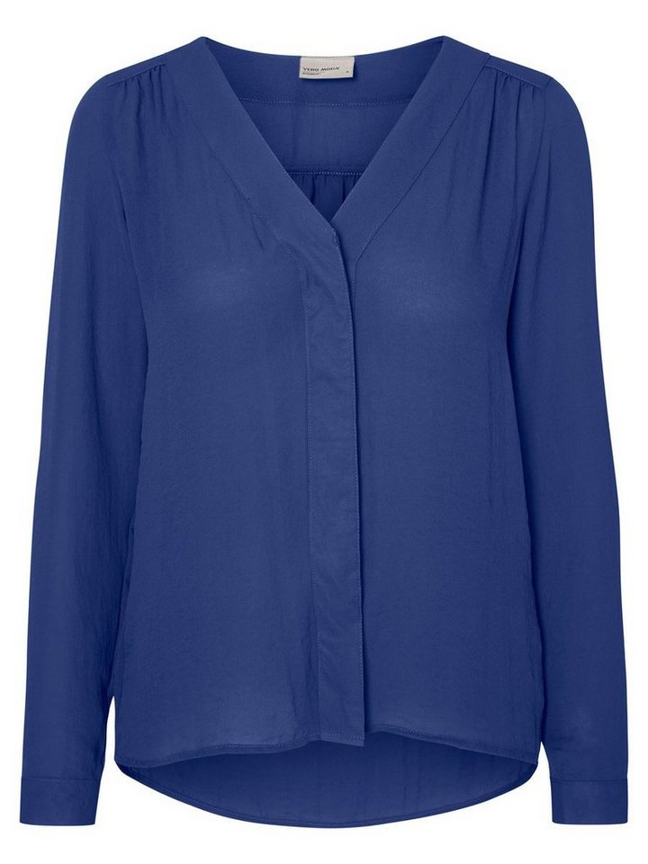 Vero Moda Langärmeliges Hemd in Twilight Blue