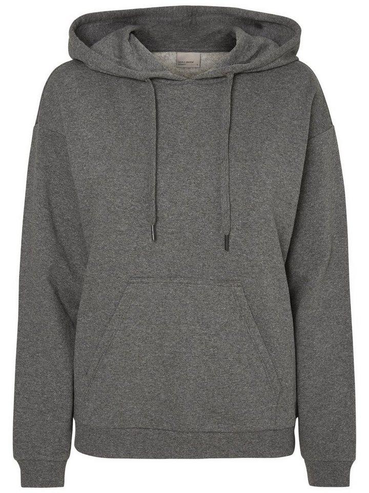 Vero Moda Lässiges Sweatshirt in Medium Grey Melange