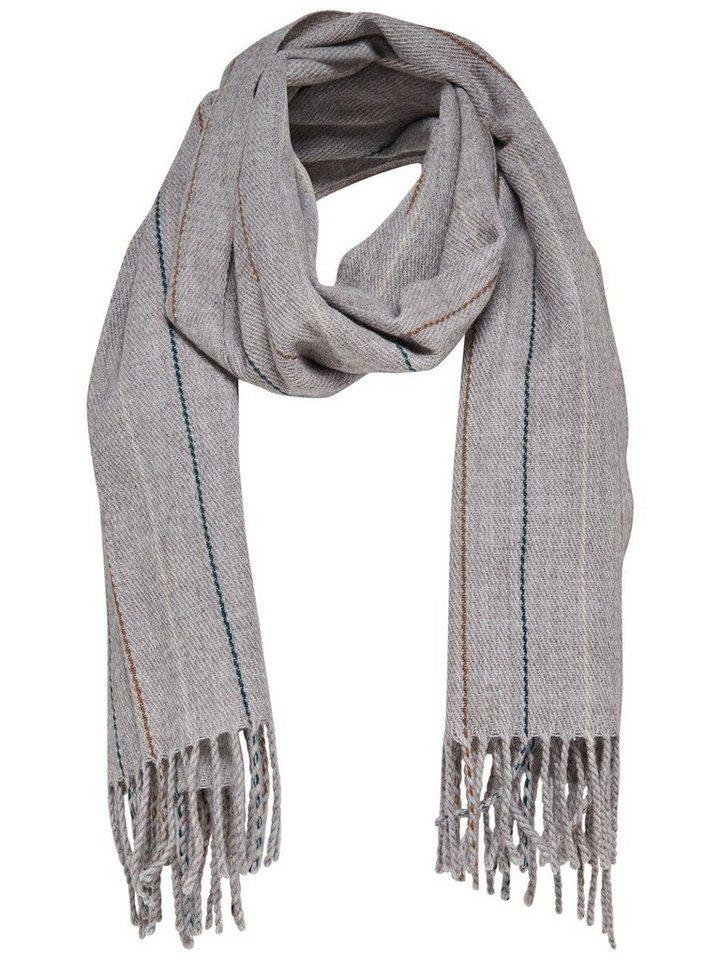 Only Woll- Schal in Light Grey Melange