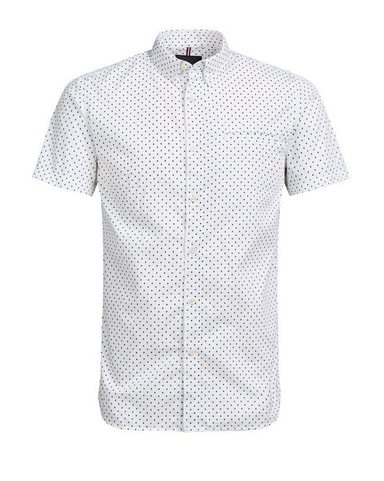 PRODUKT Lässiges Kurzarmhemd in White