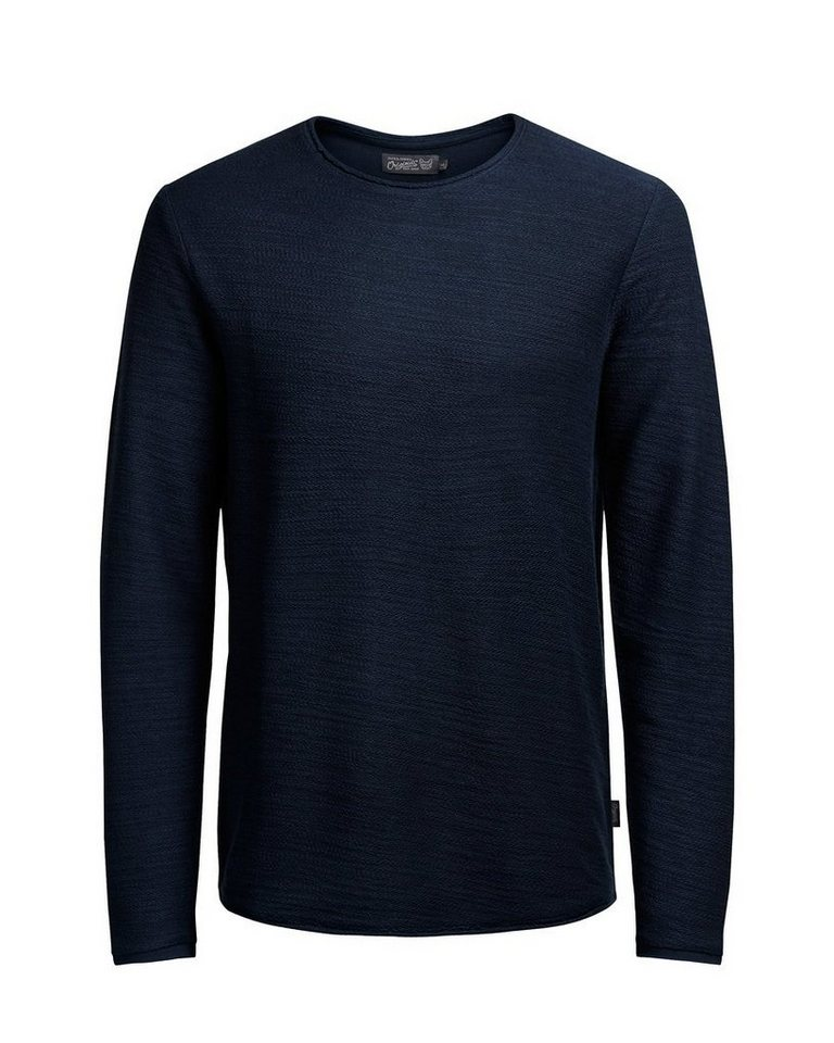 Jack & Jones Texturiertes Sweatshirt in Navy Blazer