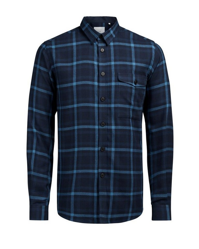 Jack & Jones Klassisches Langarmhemd in Imperial Blue