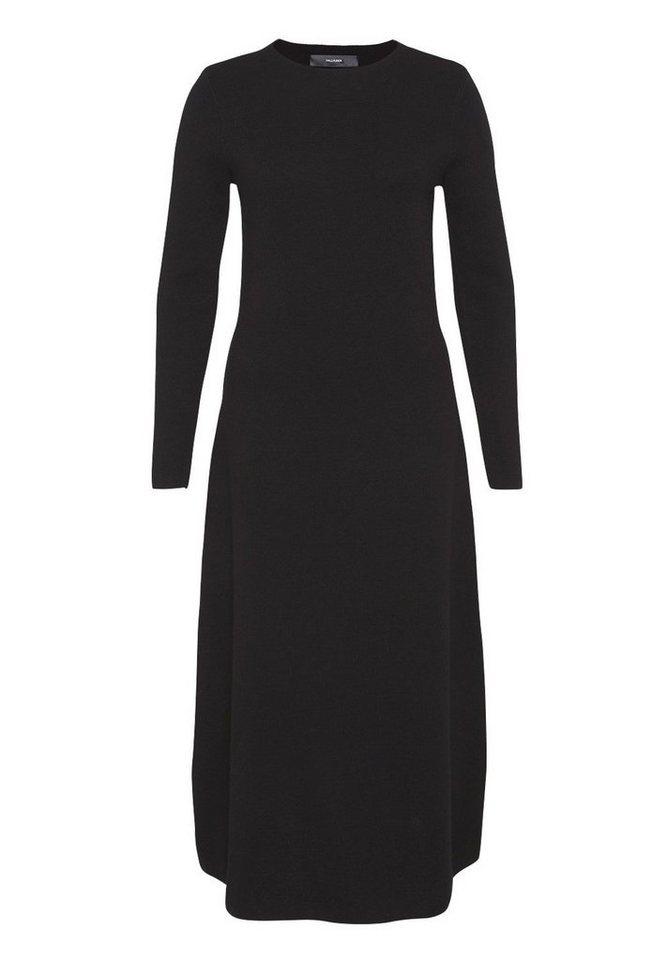 HALLHUBER Maxi Strickkleid aus reiner Wolle in schwarz