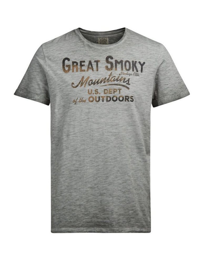 Jack & Jones Bedrucktes T-Shirt in Castor Gray