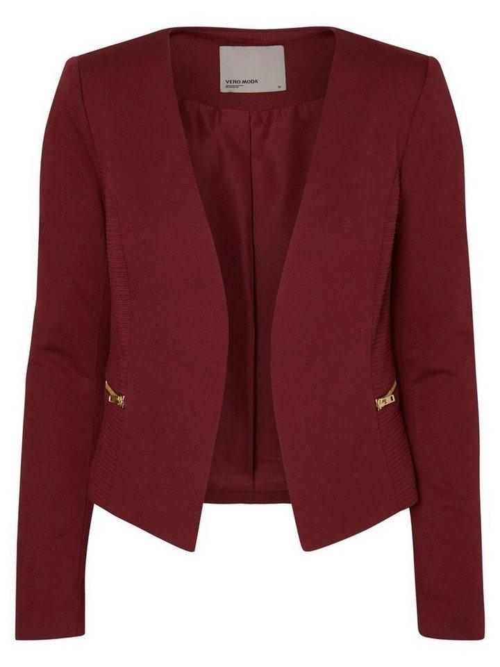 Vero Moda Jersey- Blazer in Zinfandel