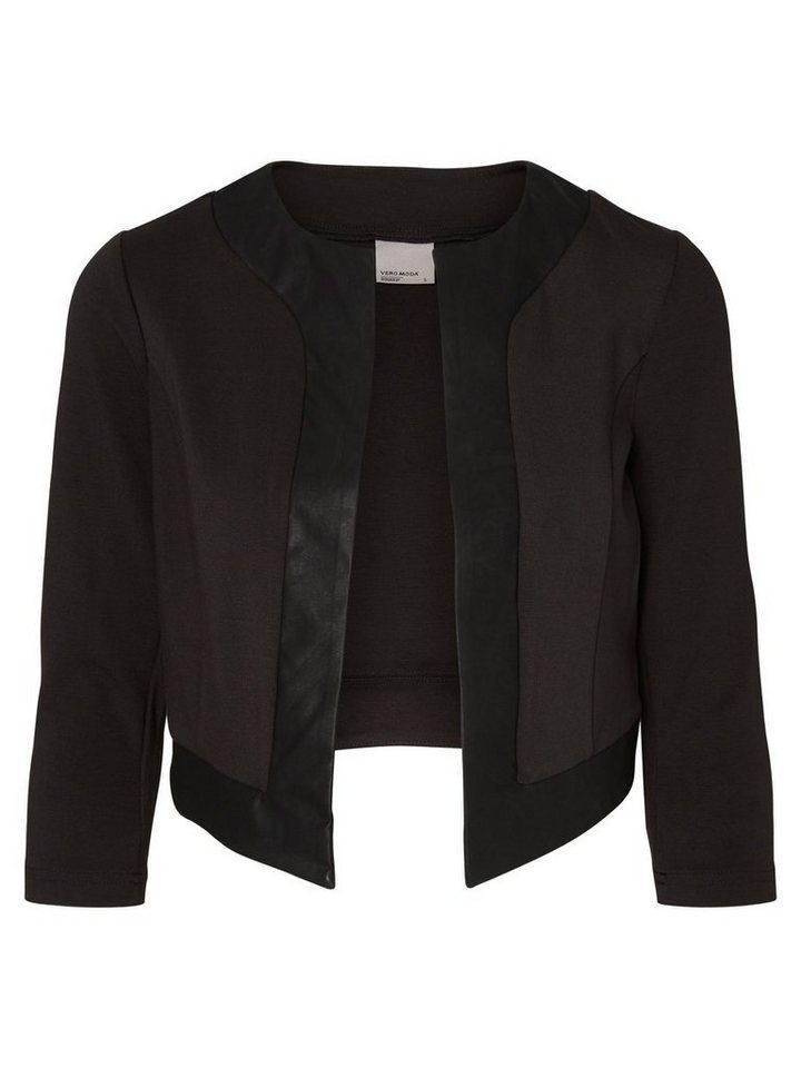 Vero Moda Kurzer Blazer in Black 2