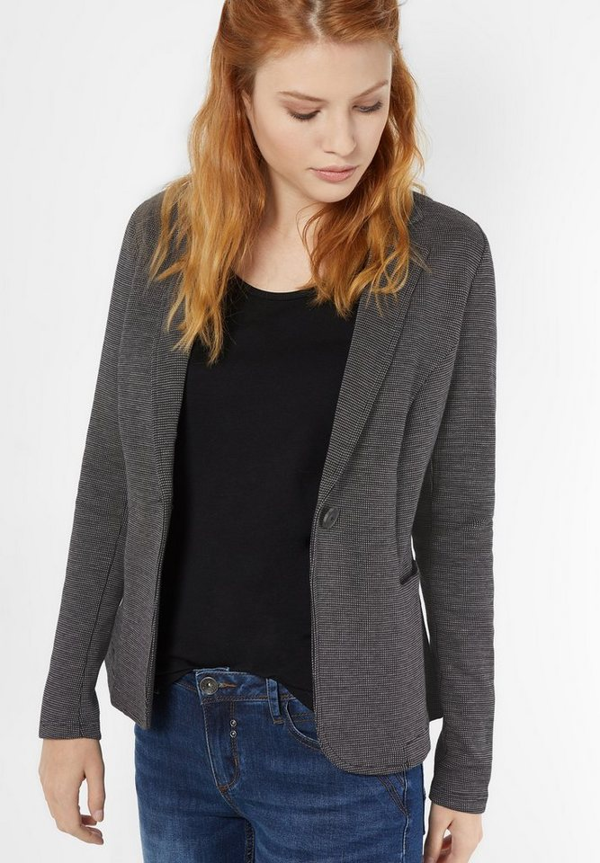Street One Sweatblazer Gardi in black