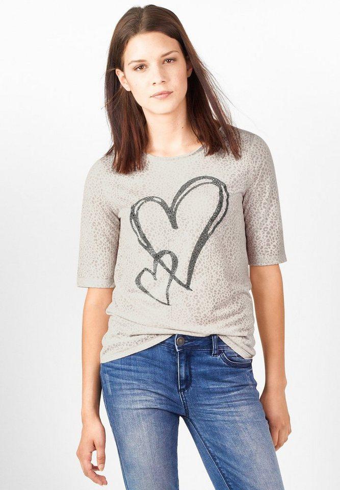 street one shirt mit animalprint grit kaufen otto. Black Bedroom Furniture Sets. Home Design Ideas