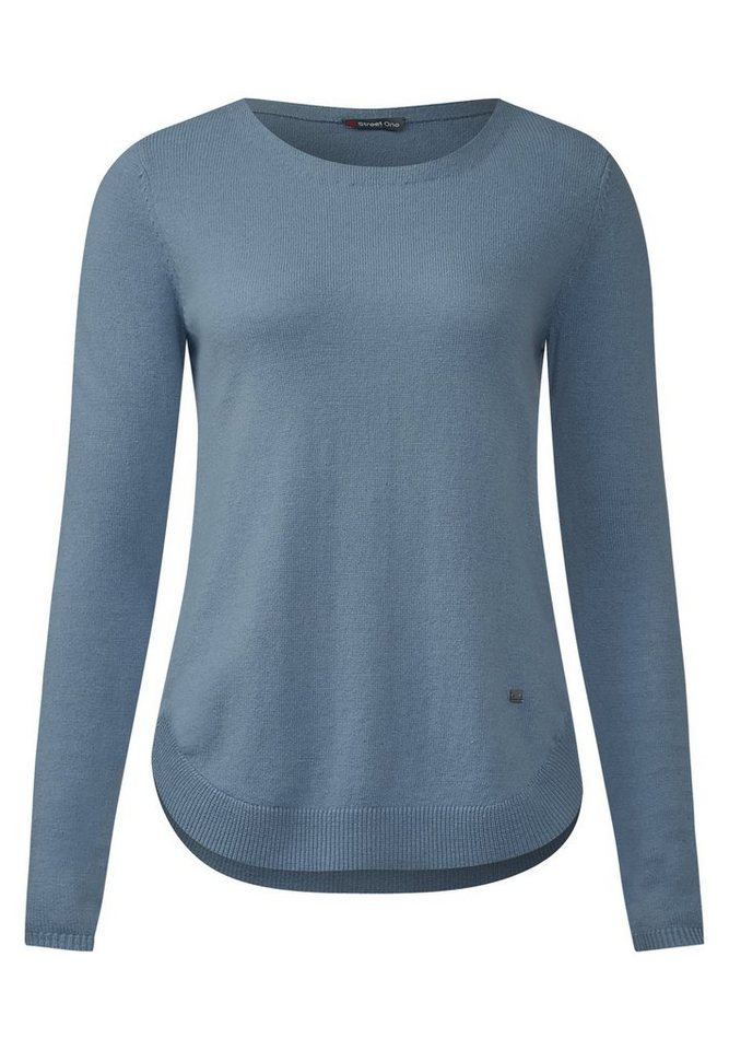 Street One Pullover mit Kaschmir Gia in sterling blue