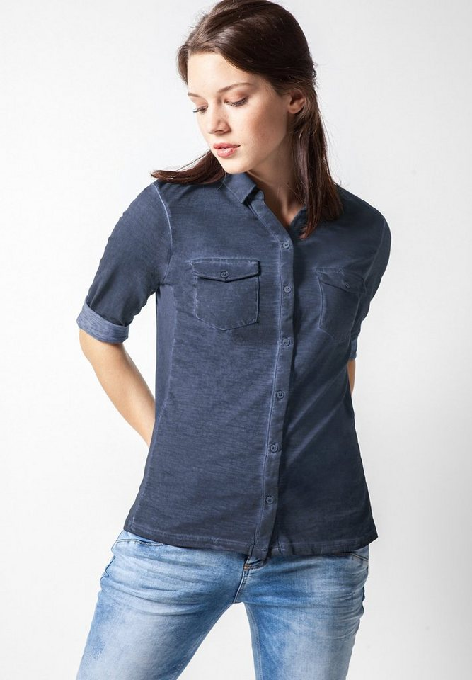 Street One Poloshirt Genova in night blue