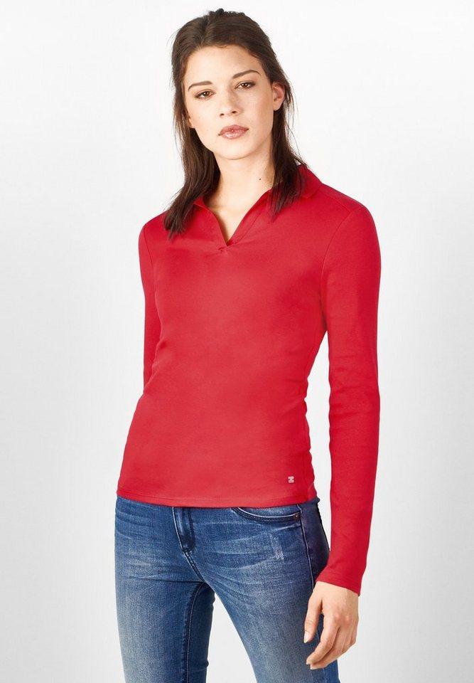 Street One Poloshirt Gulvia in pure red
