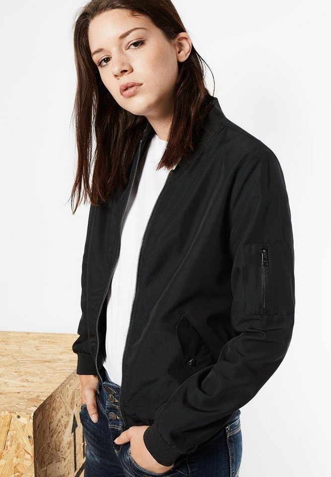 Street One Blouson Basic Style Hanna in black
