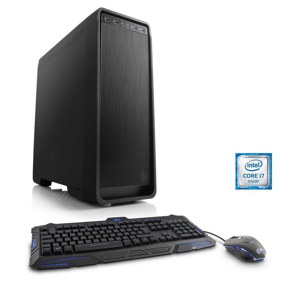 CSL Gaming PC | i7-6700K | GeForce GTX 1060 | 16GB DDR4 | 525 GB SSD »Levitas T7920 Windows 10«