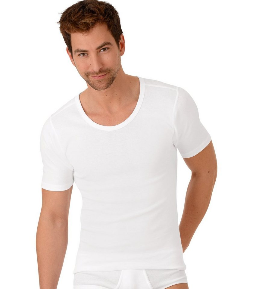 trigema -  Halbarm-Unterhemd Bio im Doppelpack