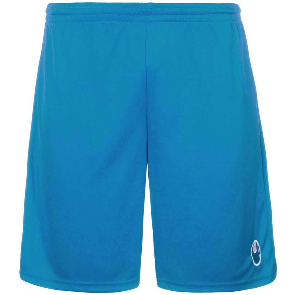 UHLSPORT Center Basic II Shorts ohne Innenslip Kinder in cyan