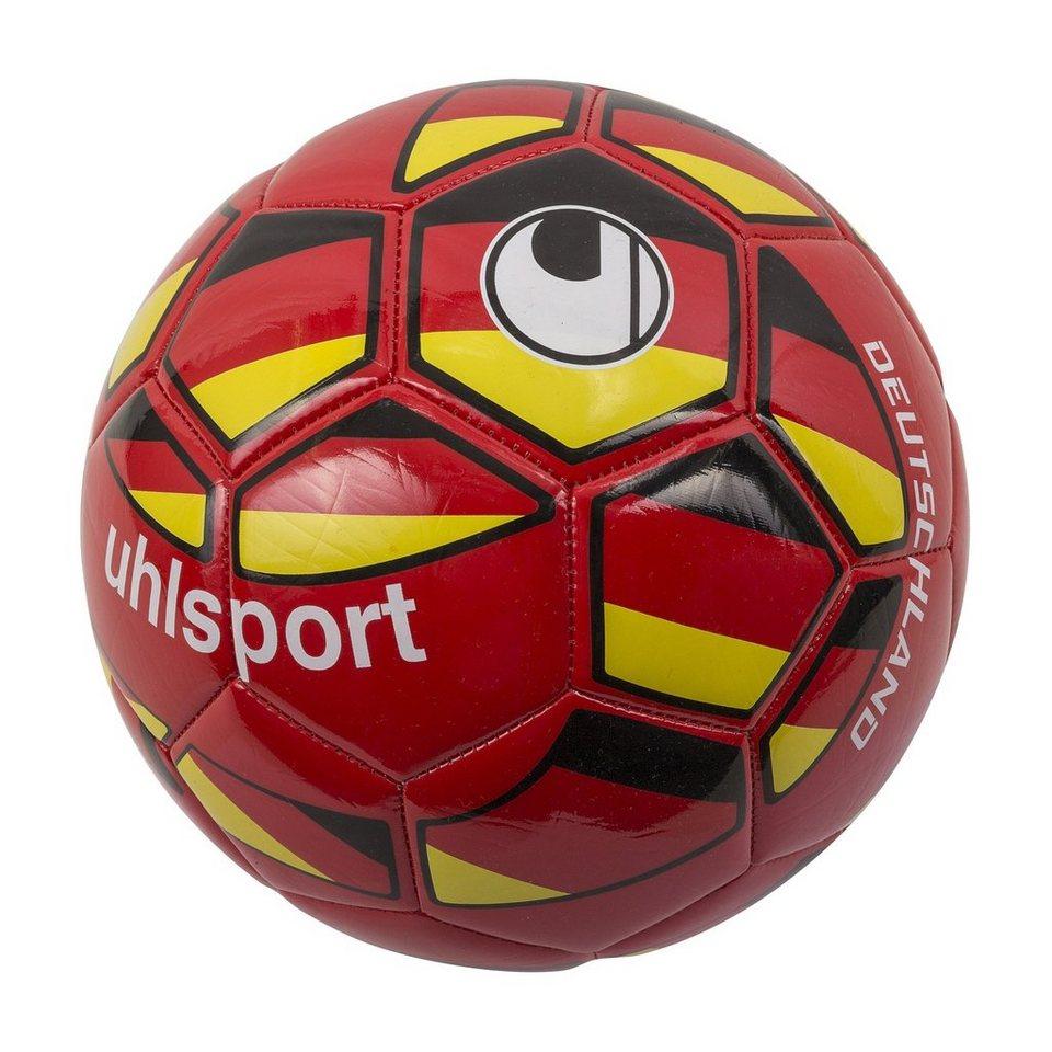 UHLSPORT Deutschland Mini Fußball in rot / gelb / weiß