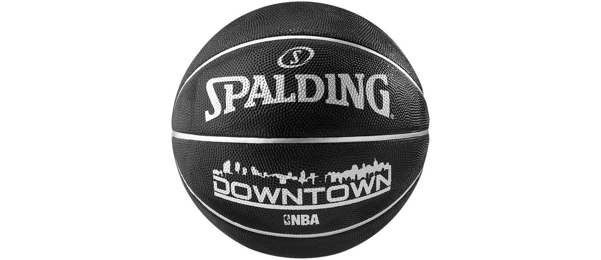 SPALDING NBA Downtown Black Basketball