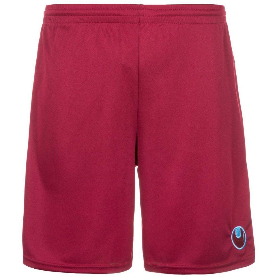 UHLSPORT Center Basic II Shorts ohne Innenslip Kinder in burgund