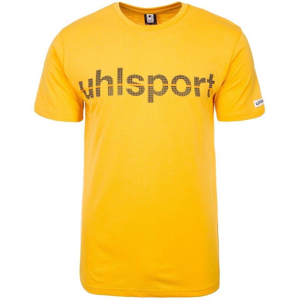 UHLSPORT Essential Promo T-Shirt Herren in maisgelb