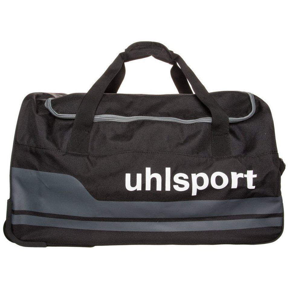 UHLSPORT Basic Line 2.0 60 L Travel Trolley in schwarz/anthrazit