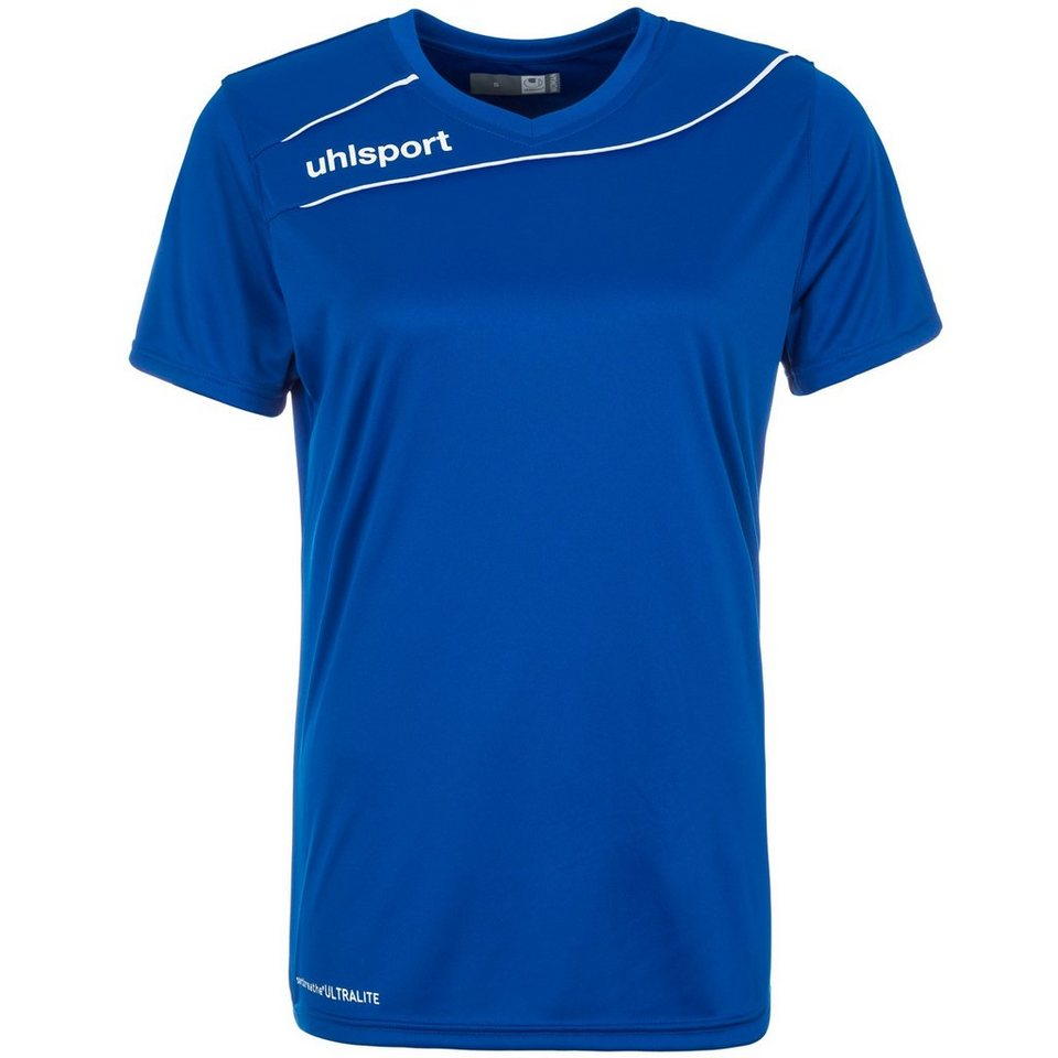 UHLSPORT Stream 3.0 Trikot Damen in azurblau/weiß