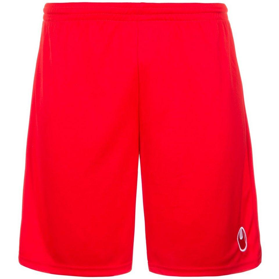 UHLSPORT Center Basic II Shorts ohne Innenslip Kinder in rot