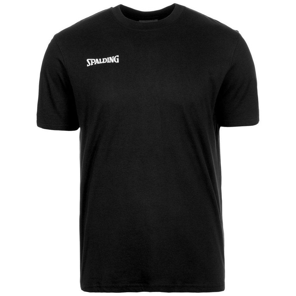 SPALDING Promo T-Shirt Herren in schwarz