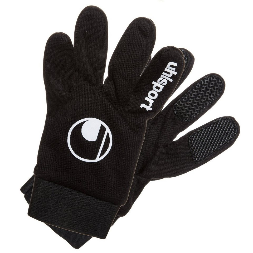 UHLSPORT Feldspielerhandschuh in schwarz