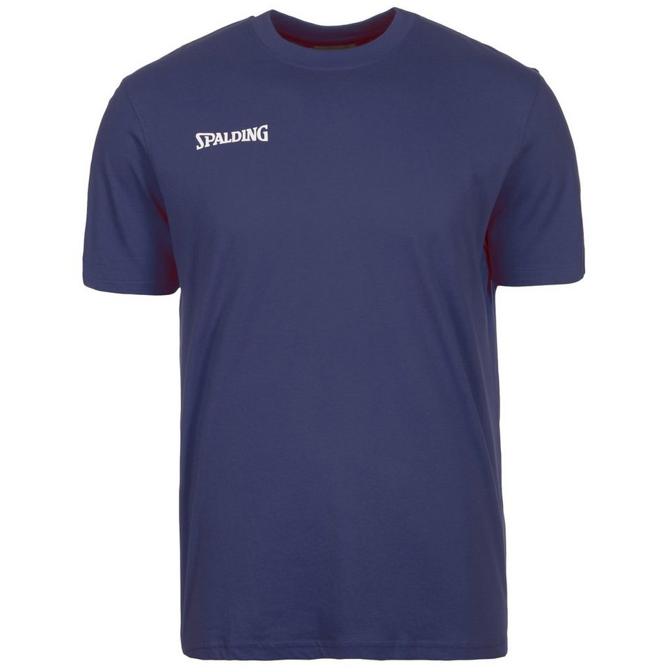 SPALDING Promo T-Shirt Herren in marine