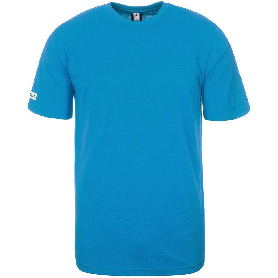 UHLSPORT Team T-Shirt Kinder in cyan