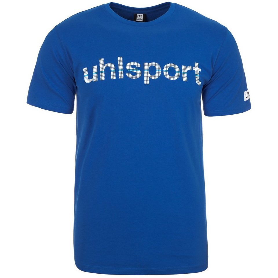 UHLSPORT Essential Promo T-Shirt Kinder in azurblau