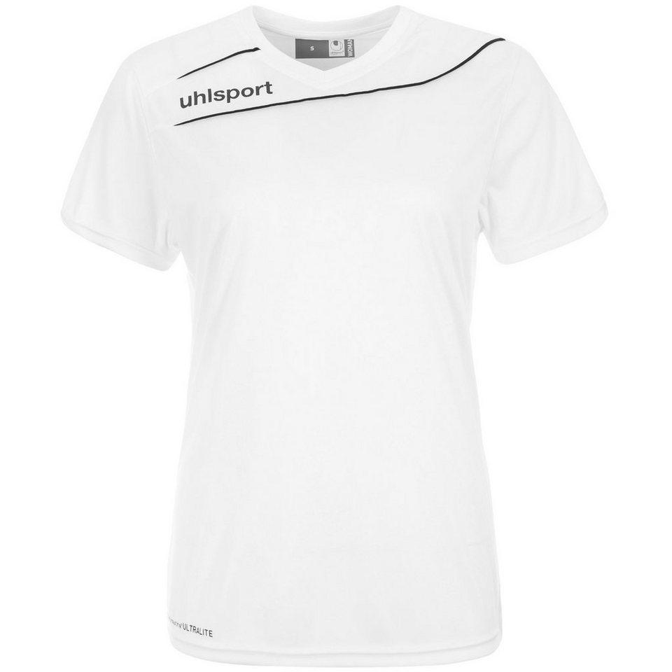UHLSPORT Stream 3.0 Trikot Damen in weiß/schwarz