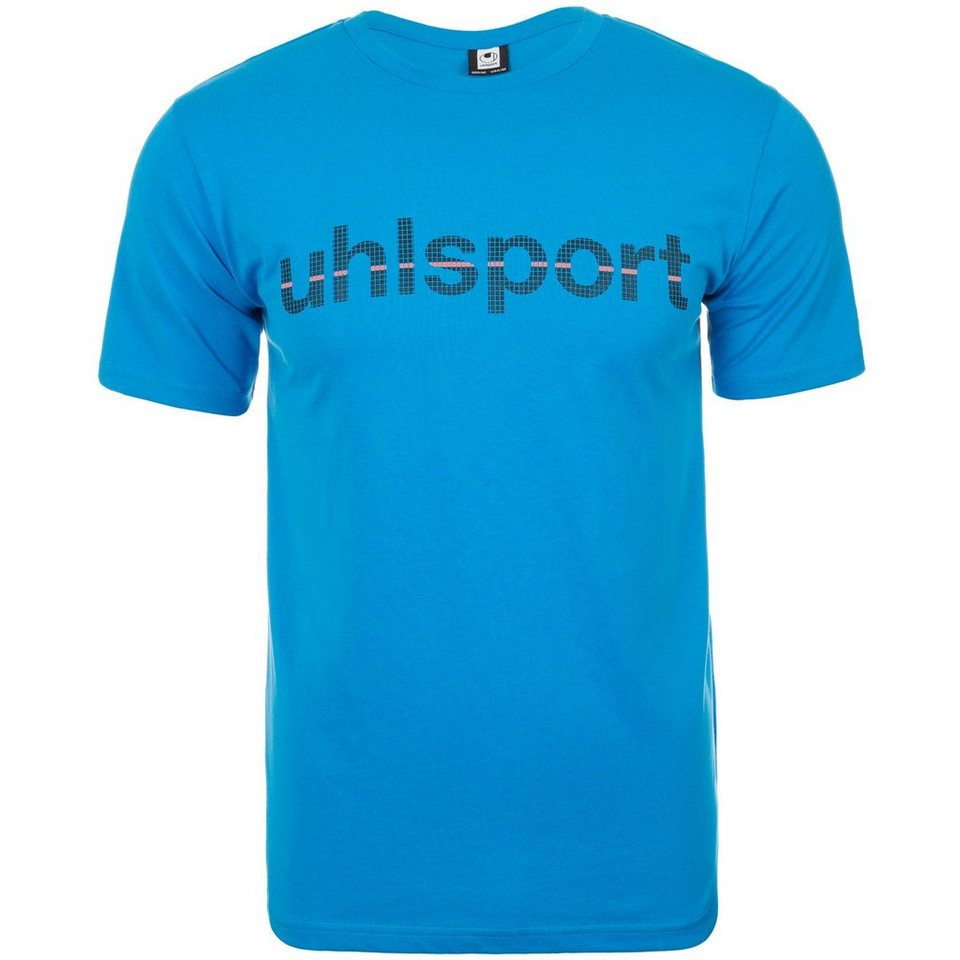 UHLSPORT Essential Promo T-Shirt Kinder in cyan