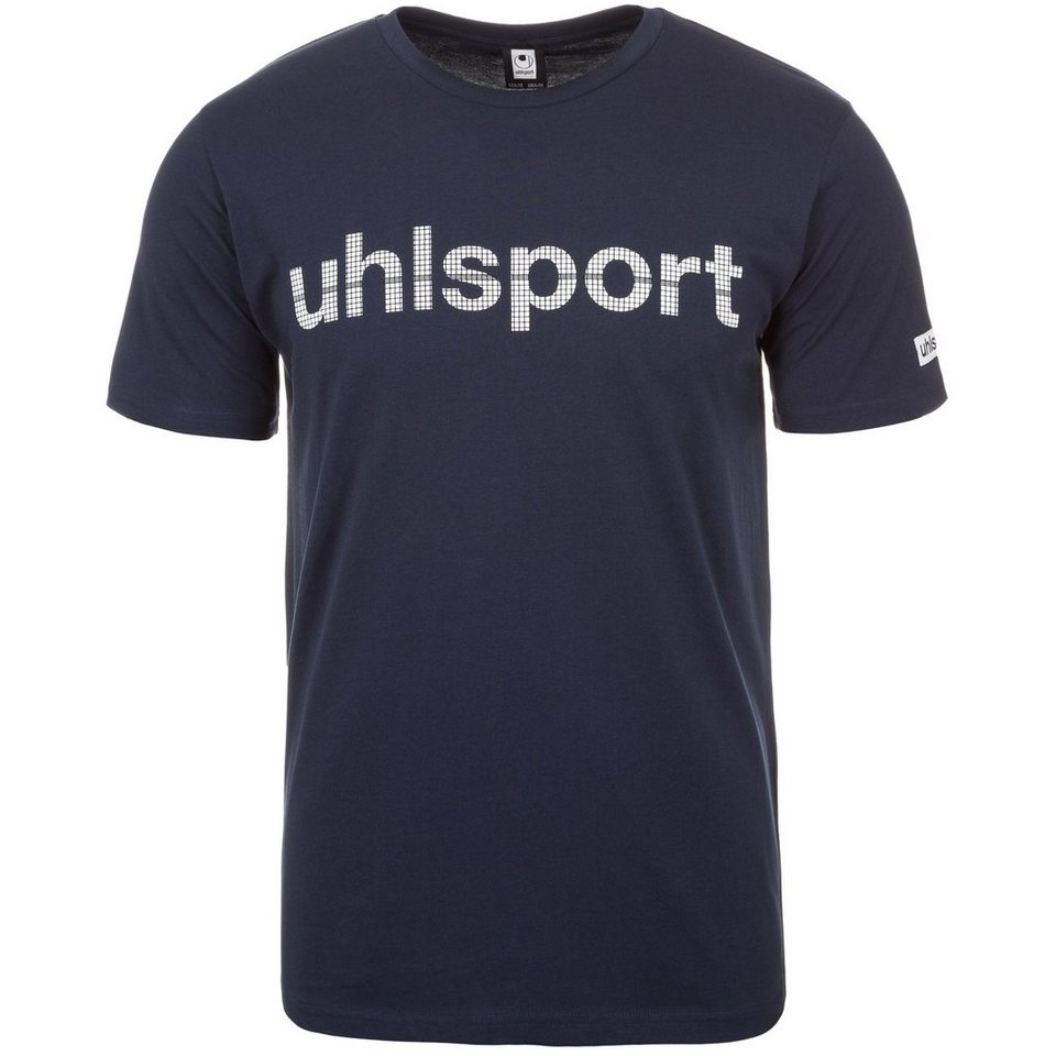 UHLSPORT Essential Promo T-Shirt Herren in marine
