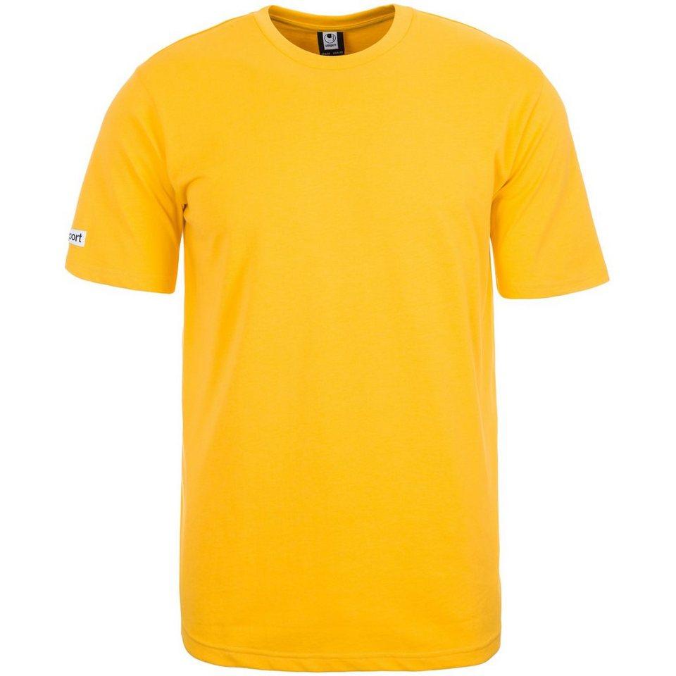 UHLSPORT Team T-Shirt Kinder in maisgelb