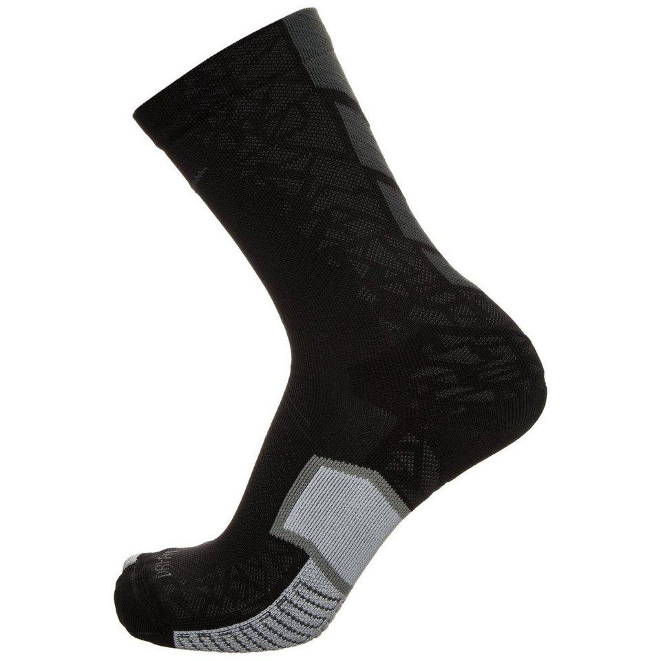 NIKE Set: Match Fit Elite Hypervenom Crew Socken in schwarz / hellgrau