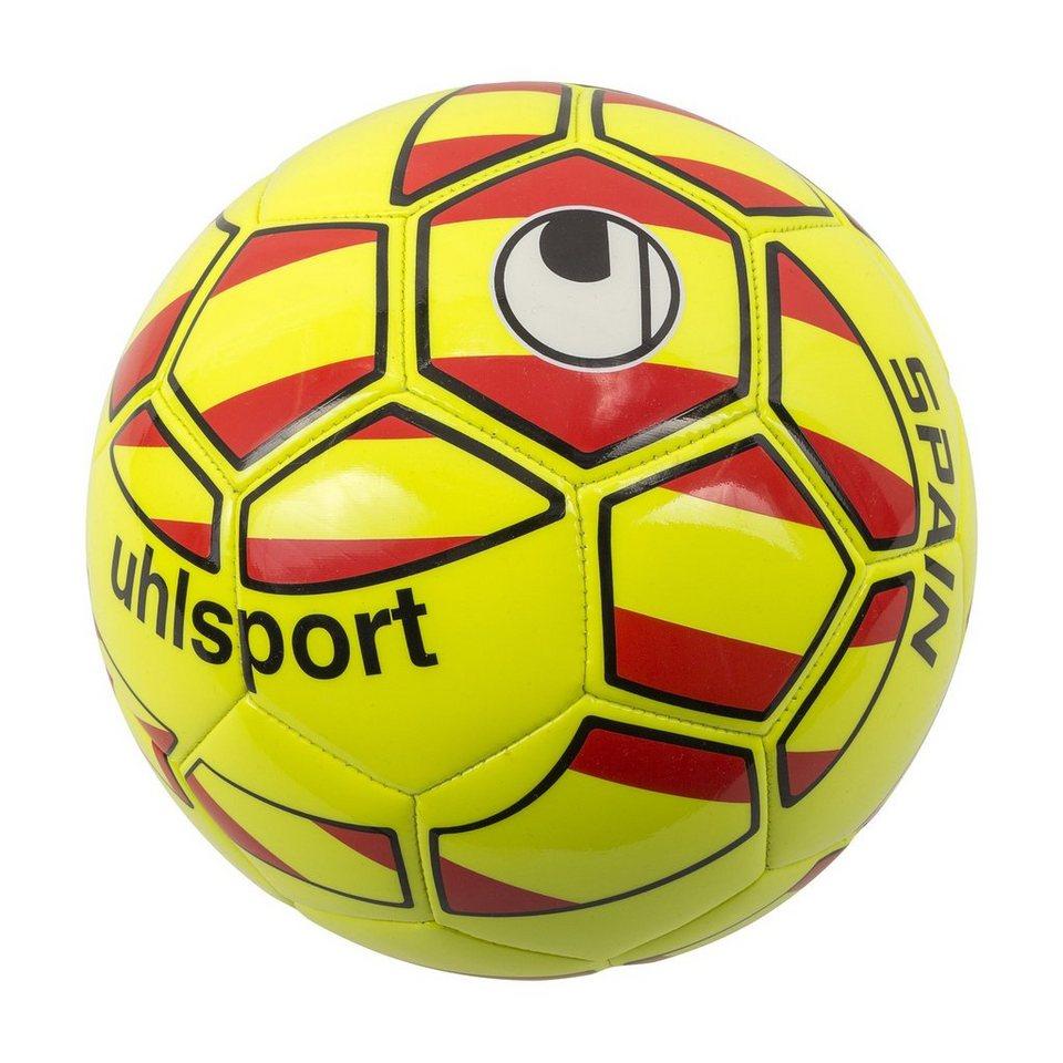 UHLSPORT Spanien Mini Fußball in gelb / rot / schwarz