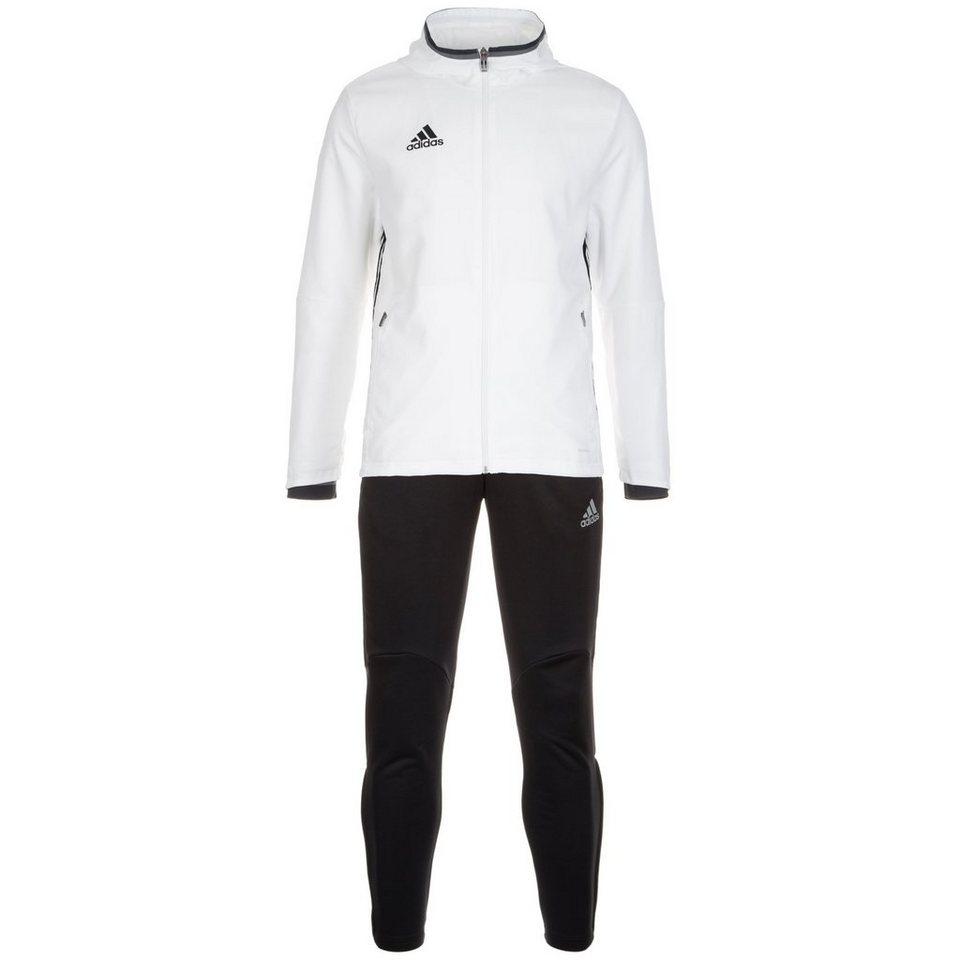 adidas Performance Set: Condivo 16 Präsentationsanzug Herren (Packung, 2 tlg.) in weiß / schwarz
