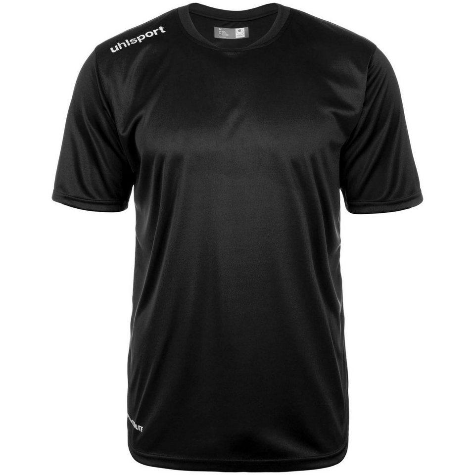 UHLSPORT Essential Polyester Training T-Shirt Kinder in schwarz