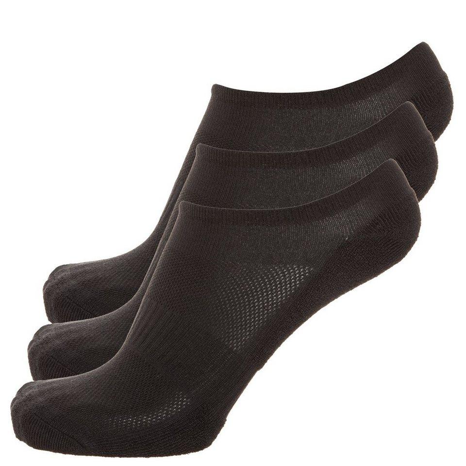 REEBOK Set: Inside Comfort Socken 3er Pack Herren in schwarz