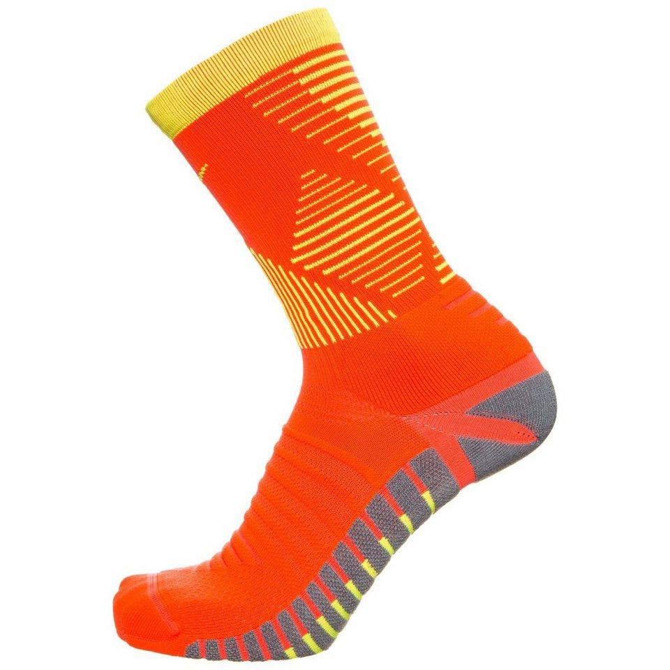 NIKE Set: Strike Mercurial Crew Socken in neonrot / gelb