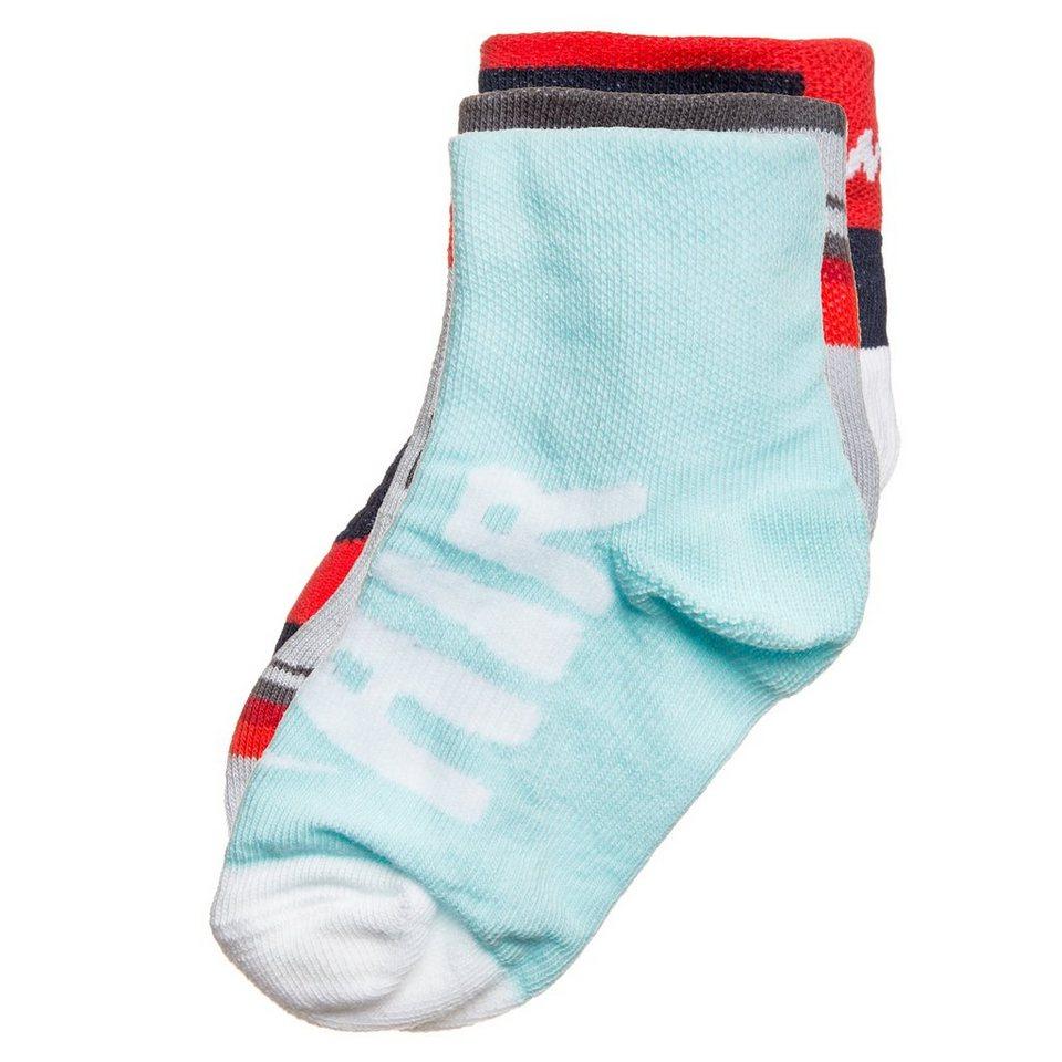 Nike Sportswear Set: Graphic Socken Kleinkinder 3er Pack in schwarz / weiß