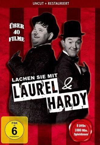 DVD »Lachen Sie Mit Laurel & Hardy DVD-Box«